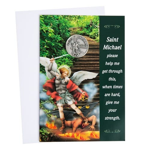 St. Michael Greeting Card