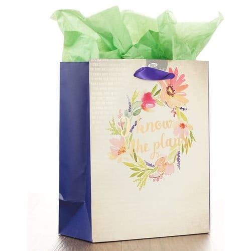 I Know the Plans Medium Gift Bag