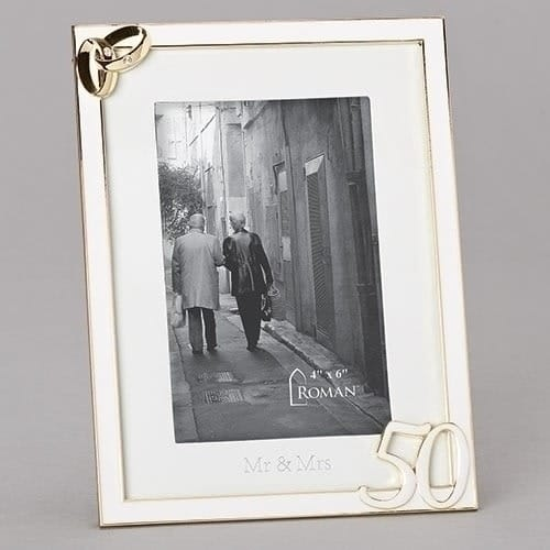 50th Wedding Anniversary Frame