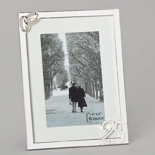 25th Wedding Anniversary Photo Frame