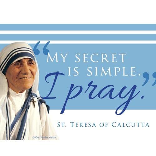 Mother Teresa Magnet (50 Pk)