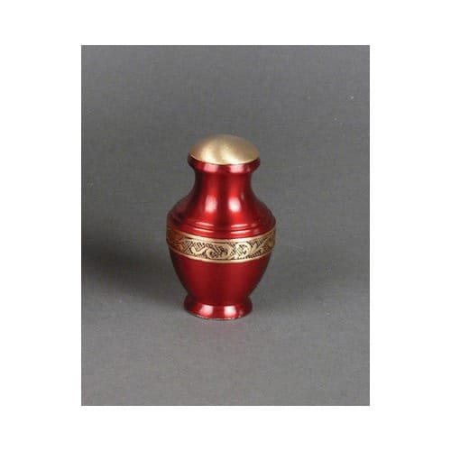 Remembrance Urn - Red Brass