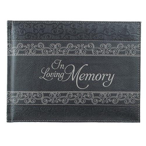 In Loving Memory Memorial Guest Book