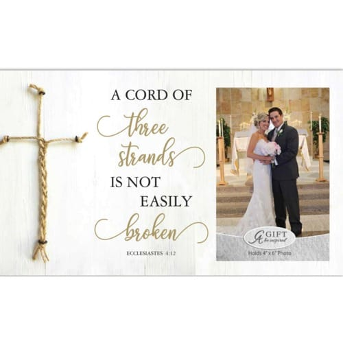 Cord of Three Strands Marriage Frame