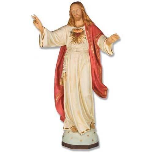 """Blessing Jesus Sacred Heart 48"""""""