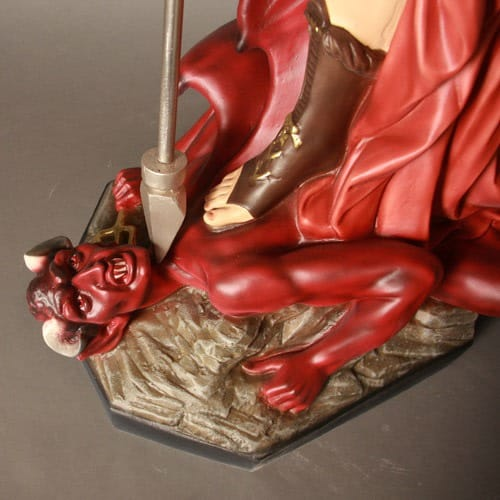 St Michael Slaying Satan 58""