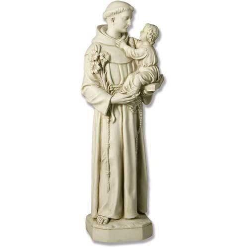 St Anthony Gazing at Child Statue