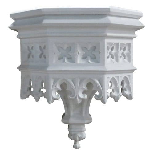 Gothic Style Bracket/Shelf