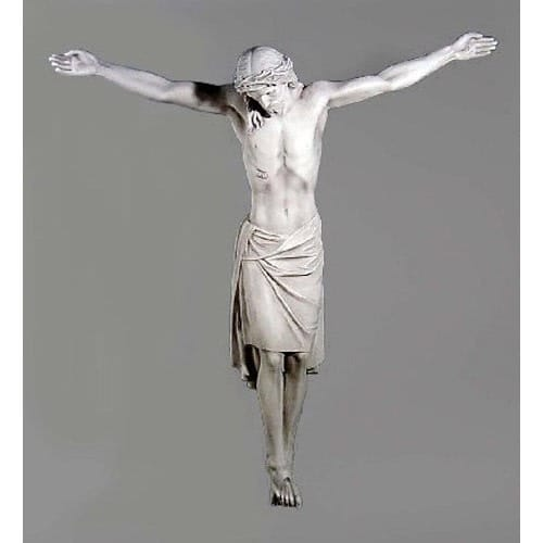 LARGE Corpus Of Christ Statue and Parts to make a Large Crucifix