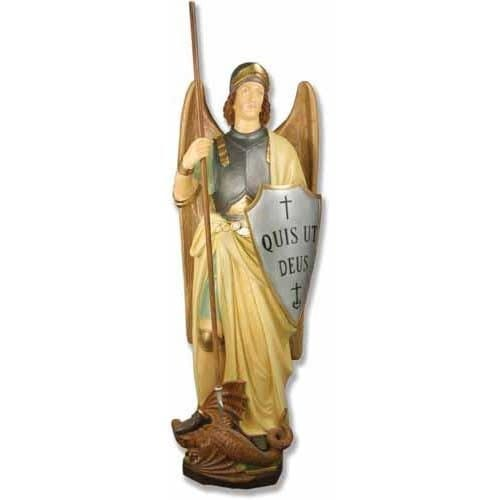 St Michael (Shield) Statue