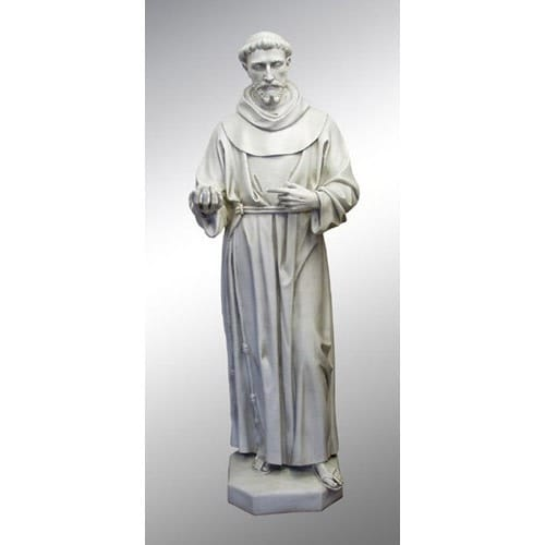 St Francis Life Size Statue