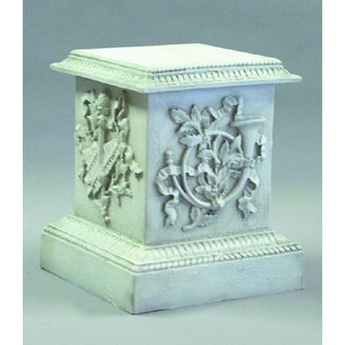 Decorative Horn Pedestal