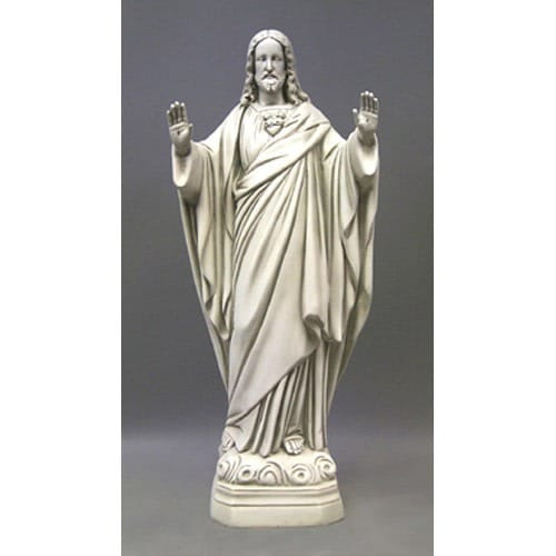 Sacred Heart of Jesus Blessing Statue