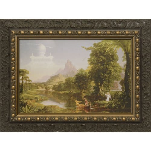 The Voyage of Life - Youth w/ Dark Ornate Frame 2042249