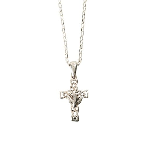 Confirmation Dove Cross Necklace