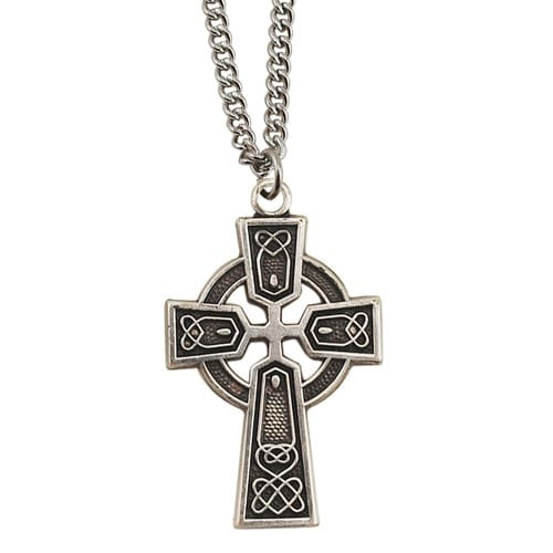 Small Sterling Celtic Cross 2043557