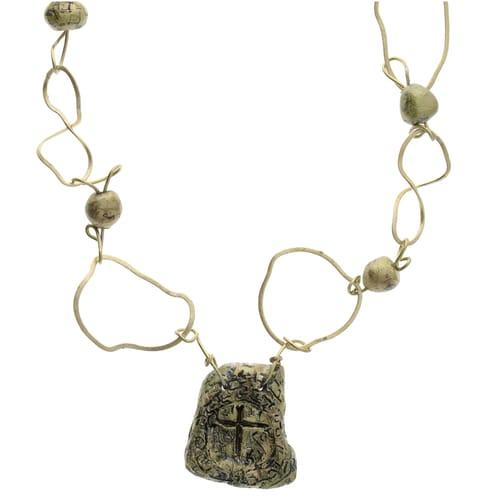 2nd Corinthians Greek Artifact Necklace