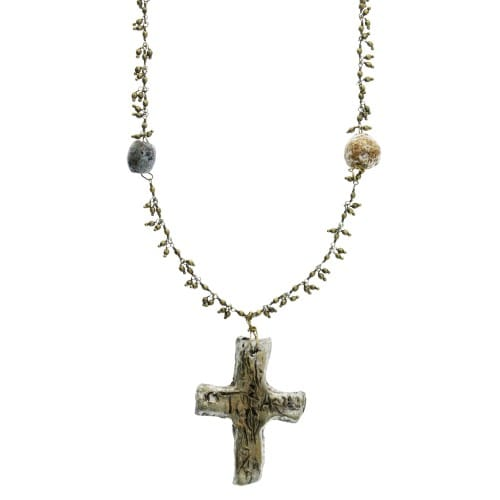 Greek Cross Necklace