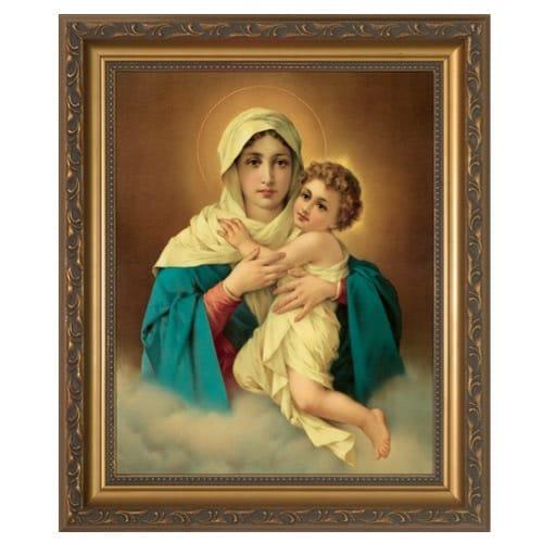 Mother Thrice Admirable, Schoenstatt Madonna Framed Print