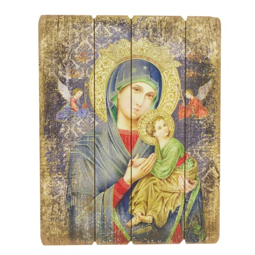 Our Lady of Perpetual Help Panel Art