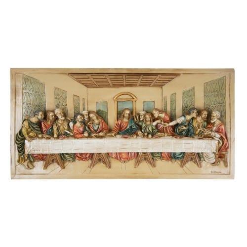 Last Supper 3D Italian Plaque