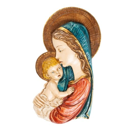 Madonna and Child 3D Plaque
