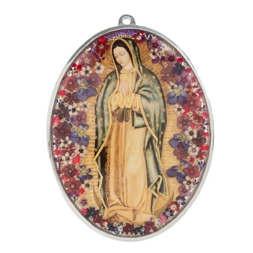 Our_Lady_of_Guadalupe_Floral_Wall_Plaque