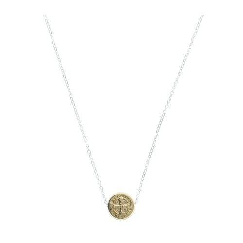 Benedictine Petite Chain Necklace, Gold