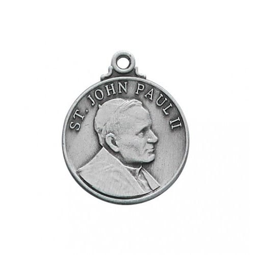 Pewter St. John Paul II Medal