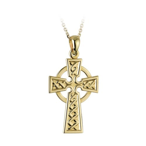 Gold Celtic Cross Pendant 2053923
