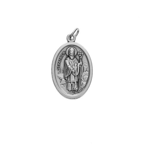 Oval St. Patrick & Our Lady of Knock Medal