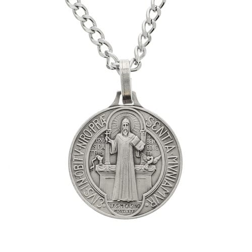 St. Benedict French Silver Medal