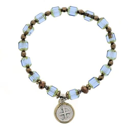 St. Benedict Crystal Bracelet