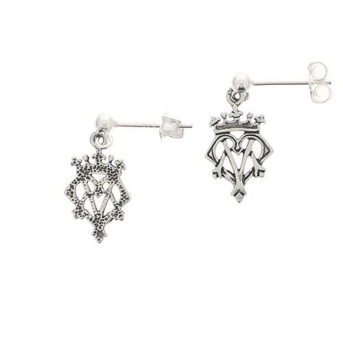 Ava Maria Crown Earrings