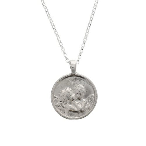 Sterling_Silver_Angel_Pendant_Necklace
