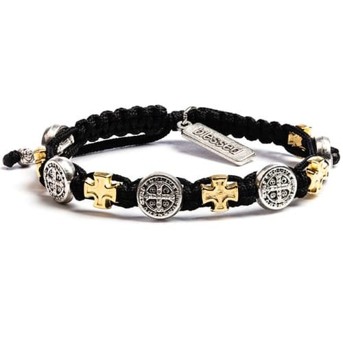 St. Benedict Blessings in Faith Bracelet