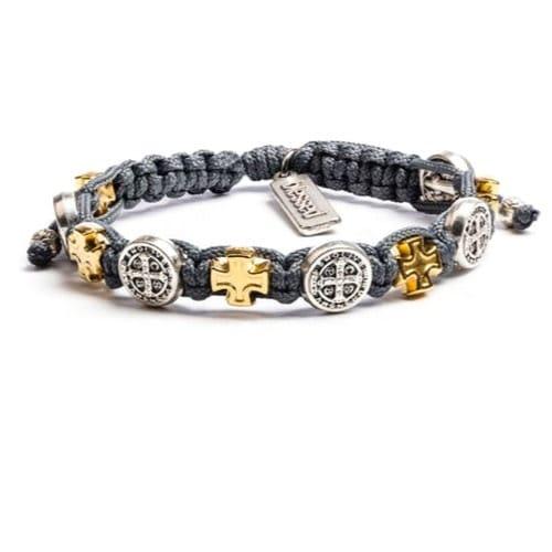 Slate St. Benedict Blessings Bracelet