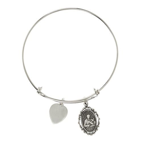 St. Gerard Engravable Bangle