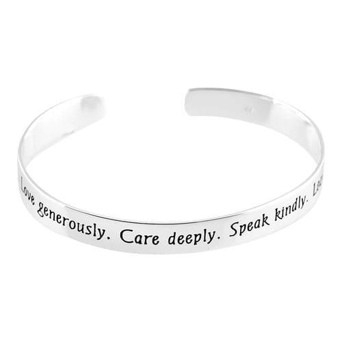 Live Simply Bangle Bracelet