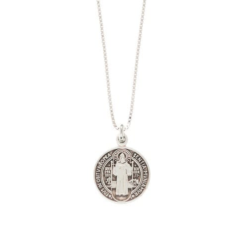 SS St. Benedict Medal Necklace