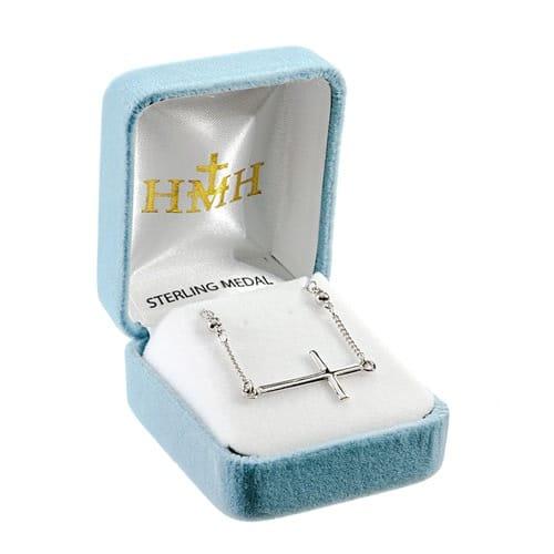 Sterling_Silver_Sideways_Cross_Necklace