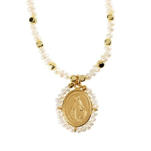 Seapearl_Beaded_Miraculous_Medal_Necklace