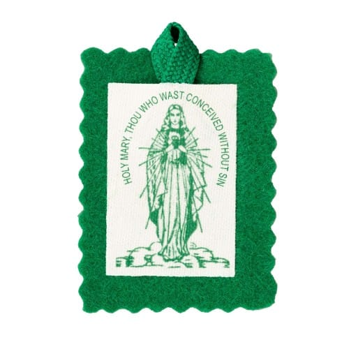 Traditional Green Scapular