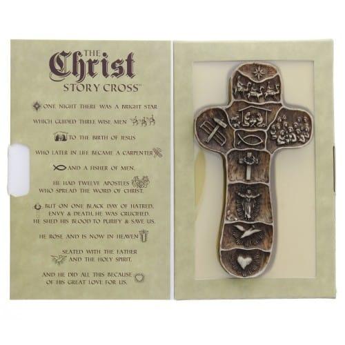 Christ's Story Palm Cross