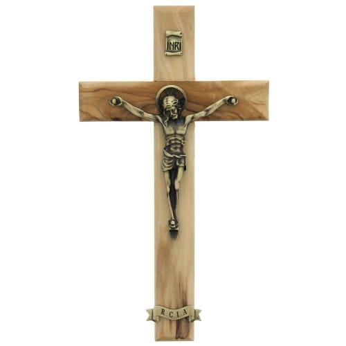 RCIA Wood Crucifix