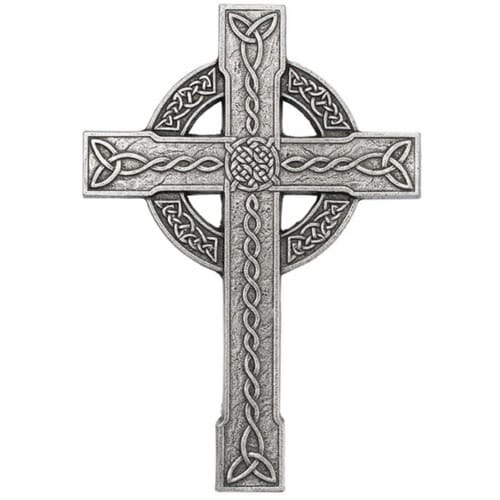 """Celtic Trinity Knot Wall Cross - 12"""""""