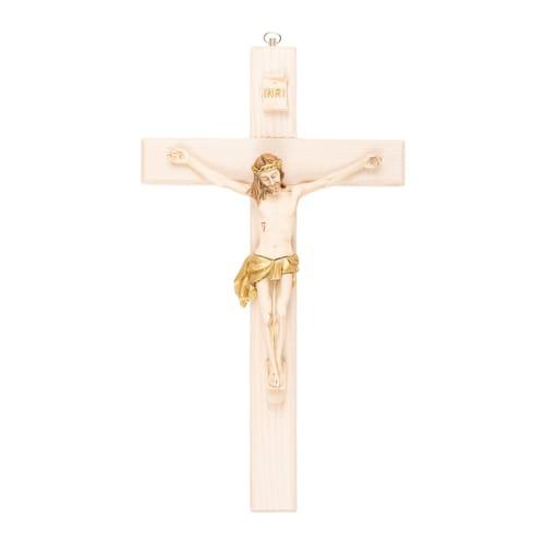 Italian Ash Wood Crucifix