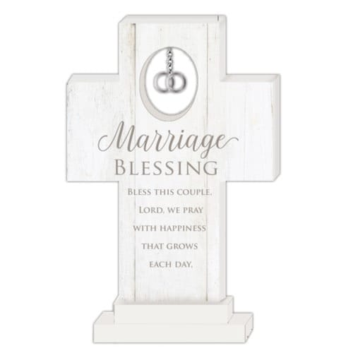 Marriage Blessing Standing Cross