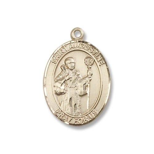 Gold St. Augustine Medal - 14KT