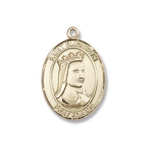 Gold St. Elizabeth of Hungary Medal - 14KT